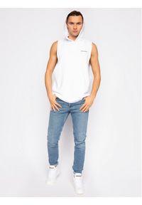 Biała bluza Calvin Klein Swimwear