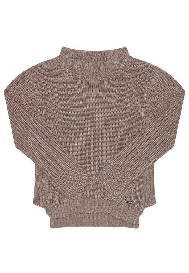 Mayoral Sweter 4343 Brązowy Regular Fit. Kolor: brązowy