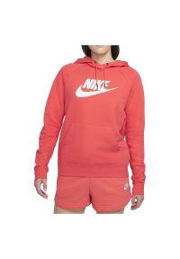 Bluza damska Nike Sportswear BV4126. Materiał: bawełna, materiał, poliester. Długość rękawa: raglanowy rękaw