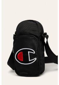 Czarna torba Champion casualowa, z aplikacjami