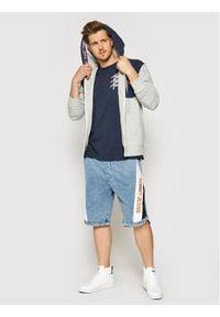 Tommy Jeans Bluza Contrast DM0DM10717 Szary Regular Fit. Kolor: szary