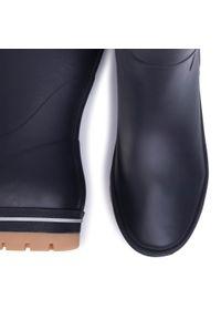 Niebieskie buty zimowe Helly Hansen z cholewką, casualowe, na co dzień