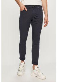 Niebieskie spodnie Jack & Jones gładkie