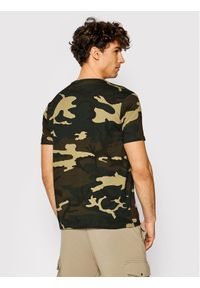 Alpha Industries T-Shirt Basic Small Logo 188505C Kolorowy Regular Fit. Wzór: kolorowy