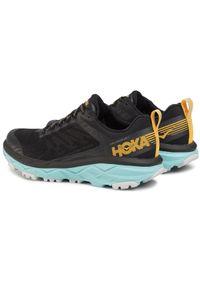 Czarne buty do biegania Hoka One One na co dzień, z cholewką