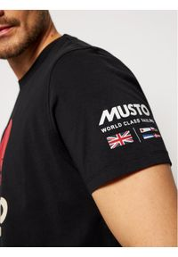 Musto T-Shirt Tokyo 81183 Czarny Regular Fit. Kolor: czarny #3