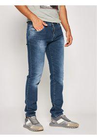 Roy Robson Jeansy Slim Fit 841-51 Granatowy Slim Fit. Kolor: niebieski. Materiał: jeans, elastan, bawełna