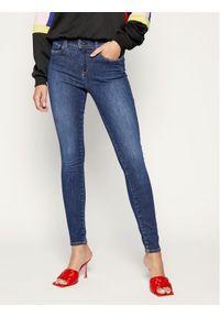 Niebieskie jeansy slim Pepe Jeans