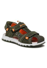 Zielone sandały Garvalin