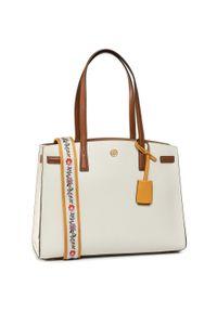 Biała torebka klasyczna Tory Burch klasyczna
