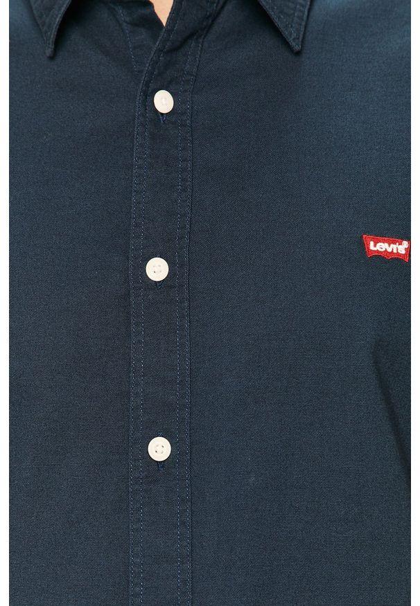 Niebieska koszula Levi's® na co dzień, casualowa, z klasycznym kołnierzykiem