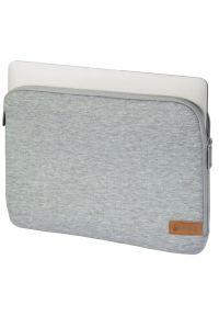 Szare etui na laptopa hama w kolorowe wzory, eleganckie