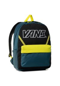 Vans - Plecak VANS - Old Skool Plus VN0A3I6SYKP1 Stargazer. Kolor: zielony. Materiał: materiał