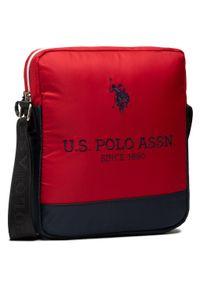 U.S. Polo Assn - Saszetka U.S. POLO ASSN. - New Bump M Crossbody Bag BIUNB4857MIA260 Navy/Red. Kolor: wielokolorowy, niebieski, czerwony. Materiał: materiał