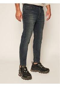 Tommy Jeans Jeansy Skinny Fit Simon DM0DM04423 Granatowy Skinny Fit. Kolor: niebieski
