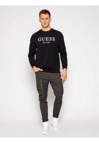 Guess Bluza M1RQ08 K7ON1 Czarny Slim Fit. Kolor: czarny