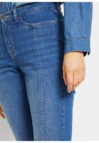 Dżinsy ze stretchem SKINNY, bawełna organiczna bonprix niebieski. Kolor: niebieski