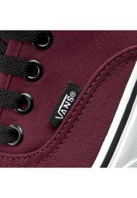 Czerwone buty sportowe Vans Vans Authentic