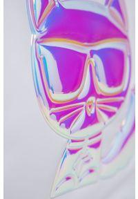 Karl Lagerfeld - Torebka. Kolor: biały. Rodzaj torebki: na ramię