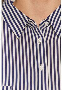 Niebieska koszula Haily's długa, na co dzień #4