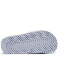 Nike - Klapki NIKE - Kawa Slide (GS/PS) 819352 100 White/Black. Okazja: na co dzień. Kolor: biały. Materiał: skóra, materiał. Sezon: lato. Styl: casual