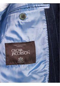 Niebieska marynarka garniturowa Oscar Jacobson