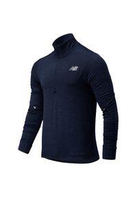 Bluza New Balance z krótkim rękawem, z dekoltem na plecach
