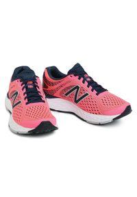 Różowe buty do biegania New Balance z cholewką