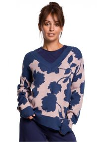 Sweter długi, elegancki
