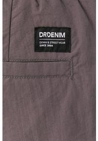 Szare spodnie dresowe Dr. Denim gładkie