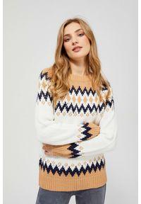 Sweter MOODO jodełka