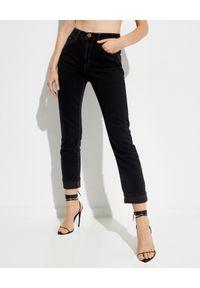 ONETEASPOON - Czarne jeansy Awesome Baggies. Kolor: czarny