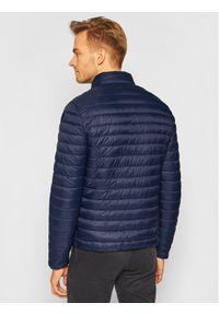 Niebieska kurtka zimowa Trussardi Jeans