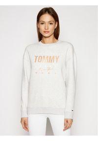 Tommy Jeans Bluza Metalic DW0DW10200 Szary Regular Fit. Kolor: szary