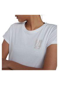 Koszulka damska Energetics Java 294564. Materiał: poliester, bawełna, materiał. Długość rękawa: krótki rękaw. Długość: krótkie