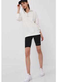 Biała bluza The Classy Issue długa, casualowa, z długim rękawem