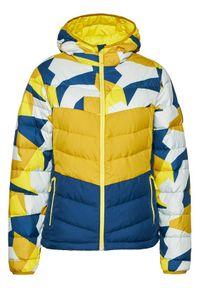 Żółta kurtka przejściowa Jack Wolfskin