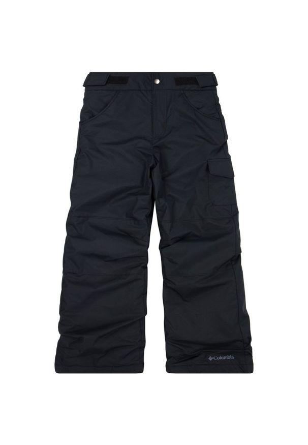Czarne spodnie columbia na zimę