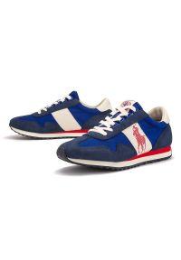 Sneakersy Ralph Lauren w kolorowe wzory, z cholewką
