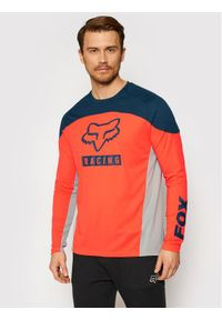 Fox Racing Koszulka rowerowa Defend Ls Jersey 27601 Kolorowy Regular Fit. Materiał: jersey. Wzór: kolorowy