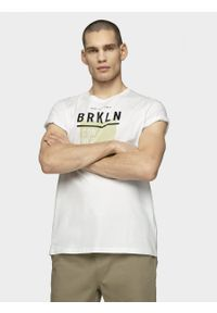 outhorn - T-shirt męski. Materiał: bawełna