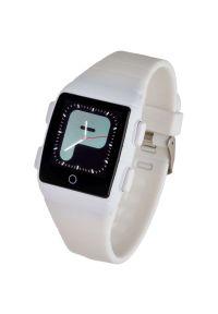 Biały zegarek GARETT smartwatch, młodzieżowy