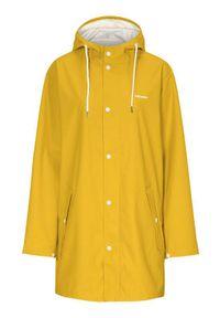 Żółta kurtka Tretorn z dekoltem woda