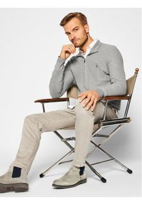 Polo Ralph Lauren Sweter Classics 710701611015 Szary Regular Fit. Typ kołnierza: polo. Kolor: szary