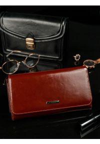Brązowy portfel LORENTI