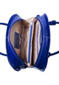 Niebieska torba na laptopa MCKLEIN klasyczna