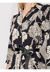 Czarna sukienka Rinascimento koszulowa