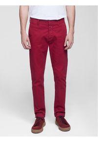 Vistula Spodnie materiałowe Flint XA0615 Czerwony Regular Fit. Kolor: czerwony. Materiał: materiał