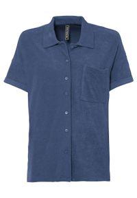 Bluza bonprix niebieski. Kolor: niebieski