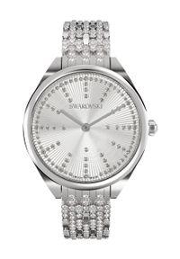 Swarovski - Zegarek ATTRACT. Kolor: srebrny. Materiał: materiał